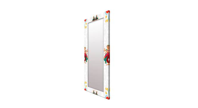 Welford Wall Mirror (White, Tall Configuration, Rectangle Mirror Shape) by Urban Ladder - Cross View Design 1 - 385974