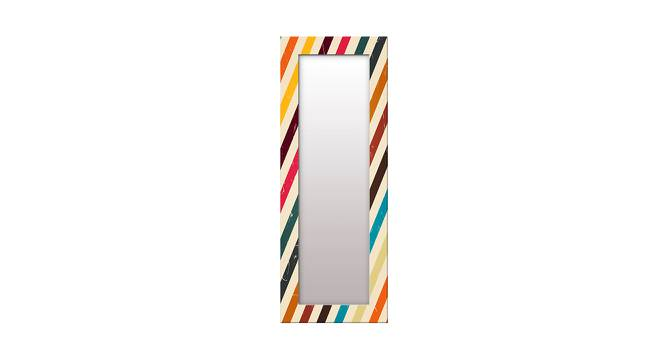 Cerese Wall Mirror (Tall Configuration, Rectangle Mirror Shape) by Urban Ladder - Front View Design 1 - 386004