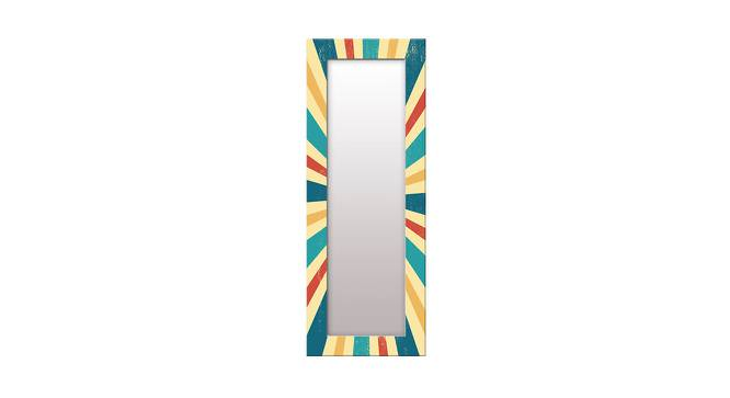 Florie Wall Mirror (Tall Configuration, Rectangle Mirror Shape) by Urban Ladder - Front View Design 1 - 386005