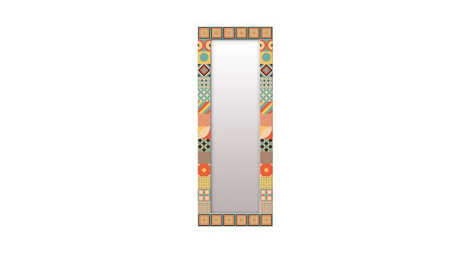 Lyndall Wall Mirror (Tall Configuration, Rectangle Mirror Shape) by Urban Ladder - Front View Design 1 - 386008