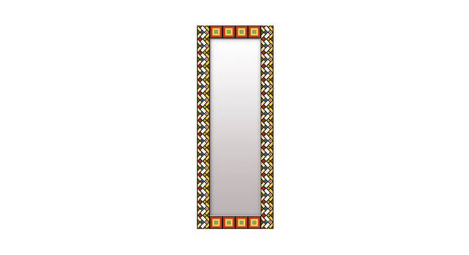 Zehra Wall Mirror (Tall Configuration, Rectangle Mirror Shape) by Urban Ladder - Front View Design 1 - 386009