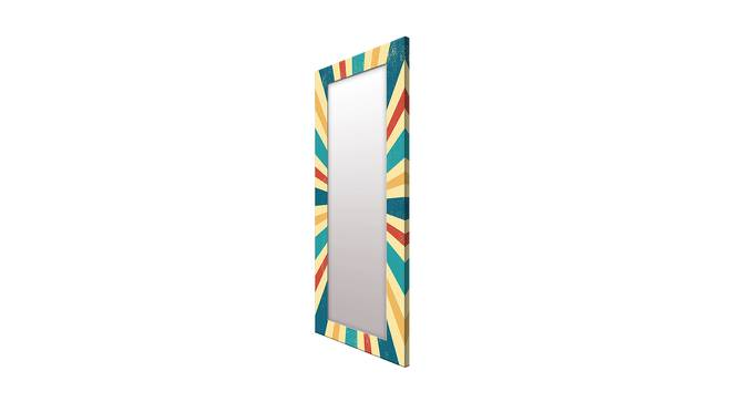 Florie Wall Mirror (Tall Configuration, Rectangle Mirror Shape) by Urban Ladder - Cross View Design 1 - 386014