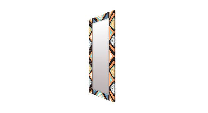 Sewell Wall Mirror (Tall Configuration, Rectangle Mirror Shape) by Urban Ladder - Cross View Design 1 - 386019