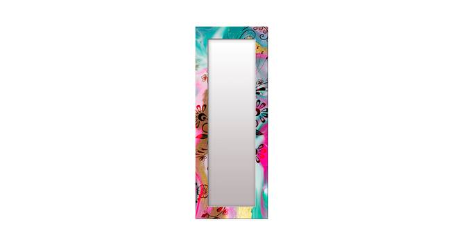 Alvinia Wall Mirror (Tall Configuration, Rectangle Mirror Shape) by Urban Ladder - Front View Design 1 - 386040