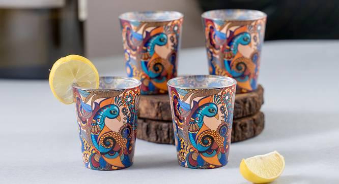 Alina Shot Glass (Set Of 4 Set) by Urban Ladder - Front View Design 1 - 386057