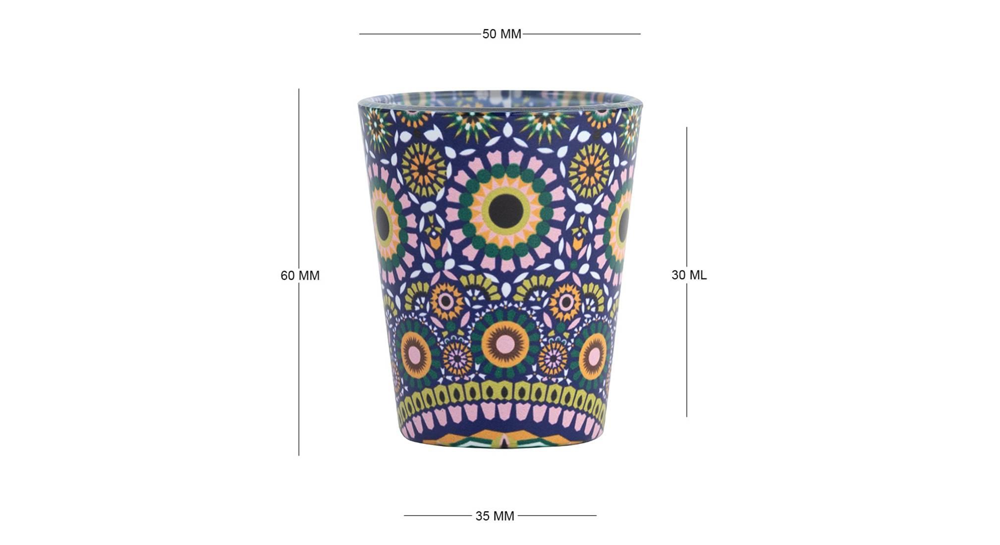 Ayonna shot glass set of 2 6