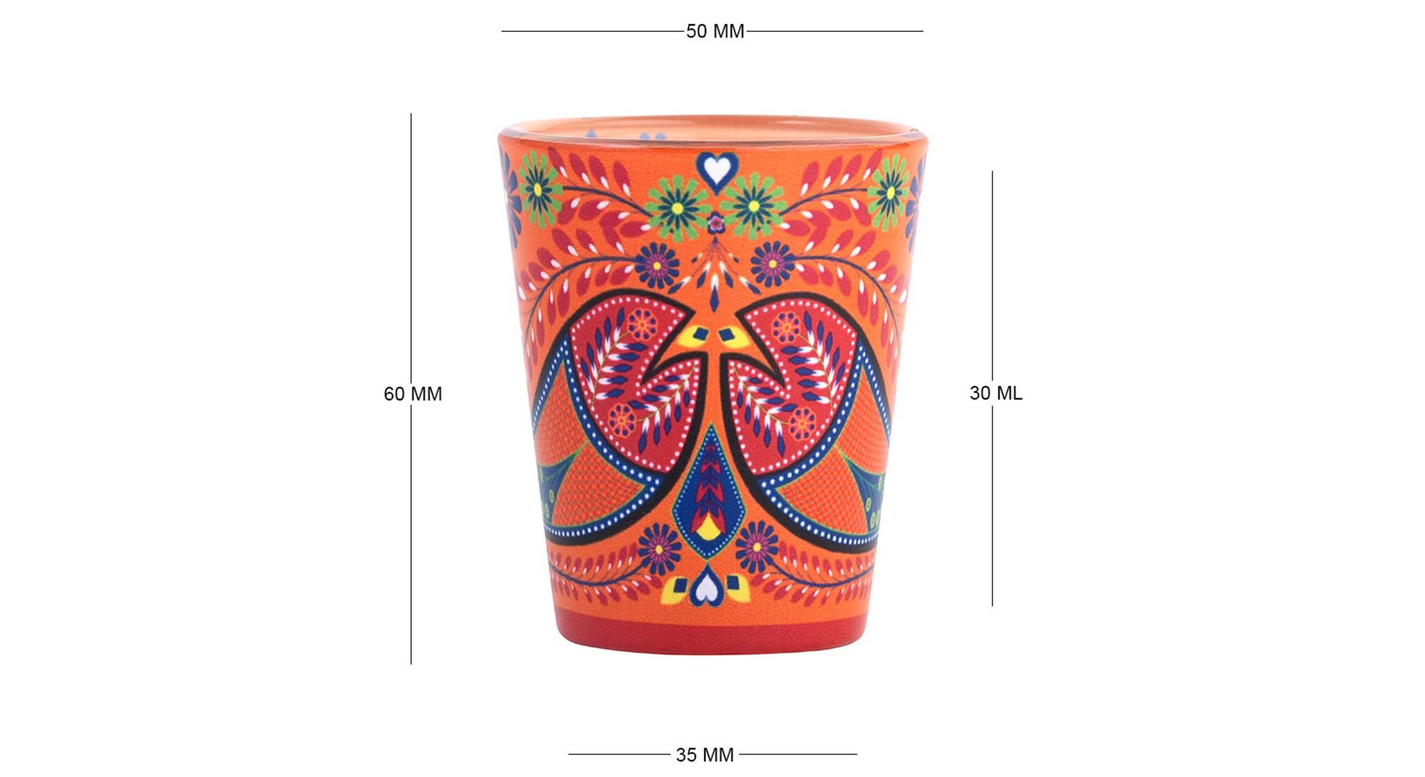 Karna shot glass set of 2 6