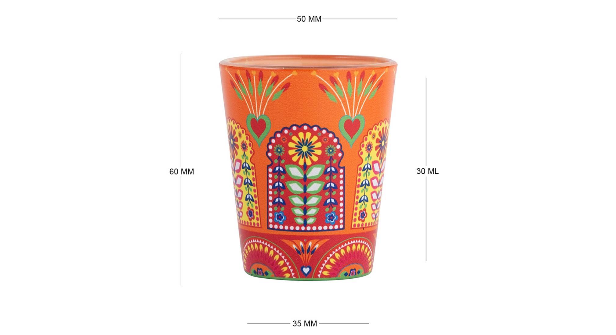 Raenisha shot glass set of 2 6