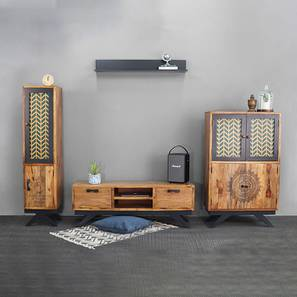 Josephine home collection paintco teak  hand painting and black lp