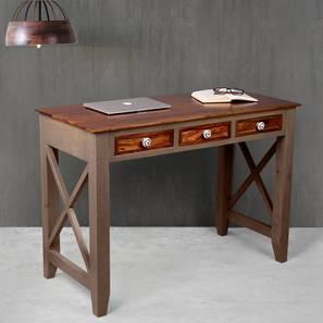 Hank study table large vintage grey and paintco teak lp