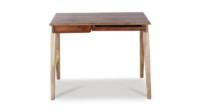 Remy Study Table (Satin Finish, Paintco Teak & Light Walnut) by Urban Ladder - Cross View Design 1 - 386536