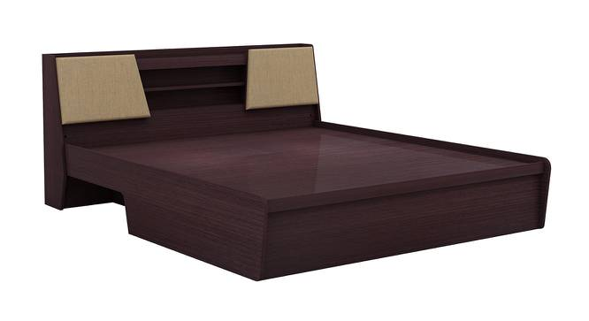 Prudent Hydraulic Storage Bed (Queen Bed Size, Foil Lam Finish, Bamboo) by Urban Ladder - Cross View Design 1 - 387479