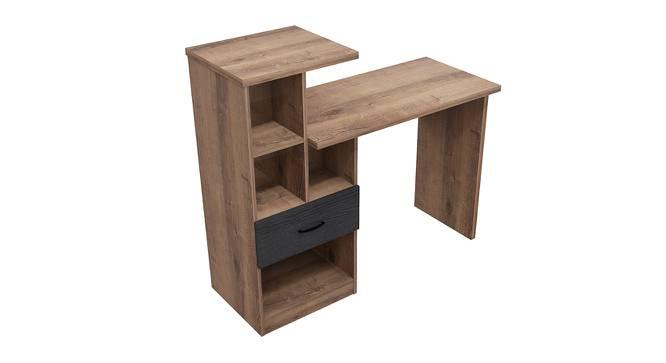 Rome Study Table (Foil Lam Finish, Mud Oak & Black Oak) by Urban Ladder - Cross View Design 1 - 387484