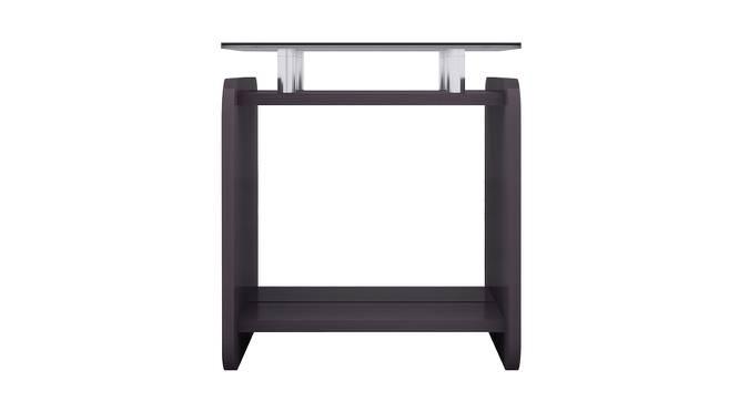 Rondino Side Table (Foil Lam Finish, Moroccan Walnut & Sonomo Oak) by Urban Ladder - Cross View Design 1 - 387553