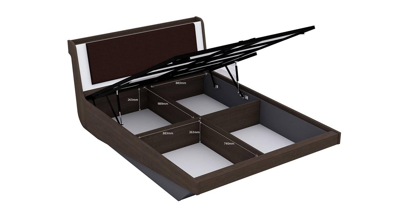 Swann hydraulic storage bed king 6