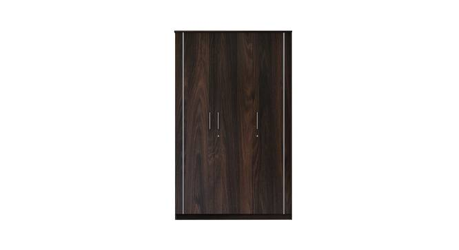 Ombra Wardrobe (Foil Lam Finish, Oak Durance) by Urban Ladder - Front View Design 1 - 387768
