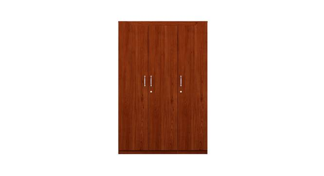 Estilo Wardrobe (Foil Lam Finish, Siena Cherry) by Urban Ladder - Front View Design 1 - 387770