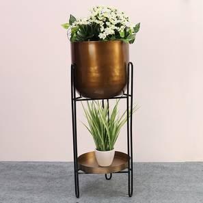 Jaxon planter antique and black matte lp