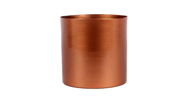 Faris Planter (Copper) by Urban Ladder - Front View Design 1 - 387894