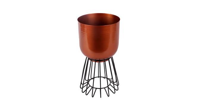 Kendal Planter (Copper & Matt Black) by Urban Ladder - Cross View Design 1 - 387908
