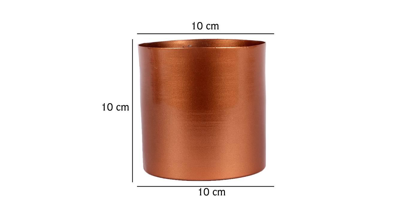 Faris planter copper 6