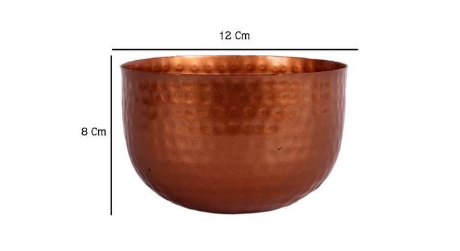 Kenton Planter (Copper) by Urban Ladder - Design 1 Dimension - 387991