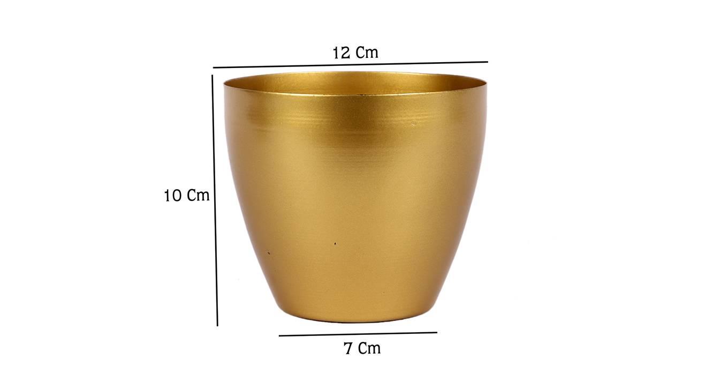 Waylen planter gold 6