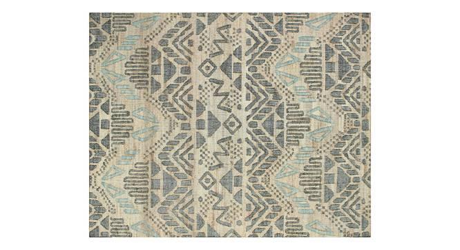 "Lekha Dhurrie (250 x 290 cm ( 98"" x 114"") Carpet Size) by Urban Ladder - Front View Design 1 - 388185"