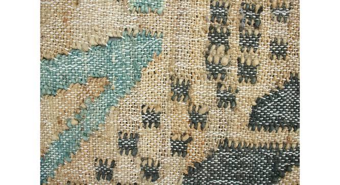 "Lekha Dhurrie (250 x 290 cm ( 98"" x 114"") Carpet Size) by Urban Ladder - Cross View Design 1 - 388190"