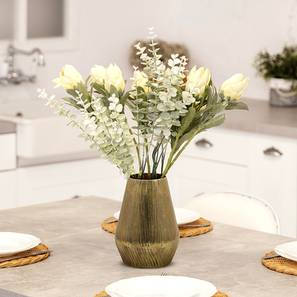 Marconi Table Vase (Gold) by Urban Ladder - Front View Design 1 - 388806