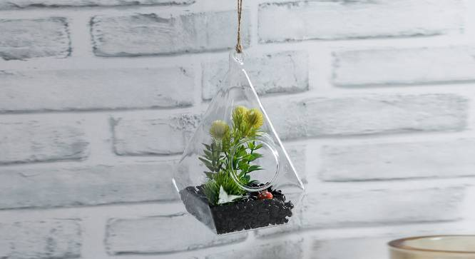 Aurora Artificial Plant With Pot by Urban Ladder - Front View Design 1 - 388867