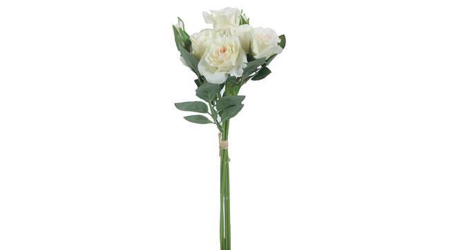 Allen Artificial Flower (White) by Urban Ladder - Design 1 Side View - 388880