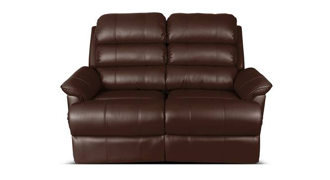 Amelia Recliner (Brown) by Urban Ladder - Front View Design 1 - 391372