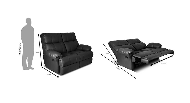 Nephele recliner black 6