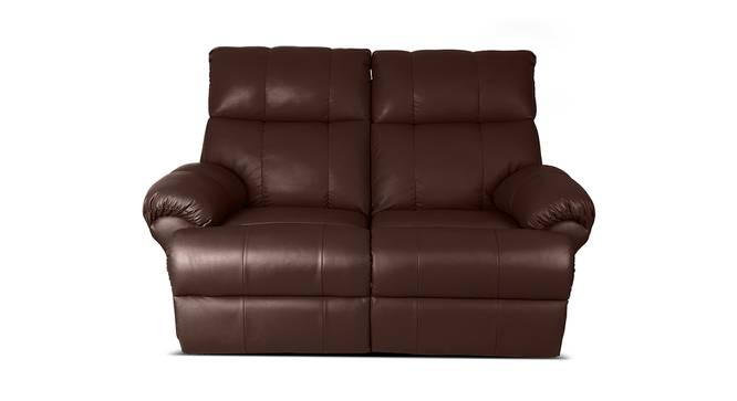 Phoebe Recliner (Brown) by Urban Ladder - Front View Design 1 - 391545
