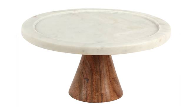 Panna Mian Cake Stand (White) by Urban Ladder - Cross View Design 1 - 392457