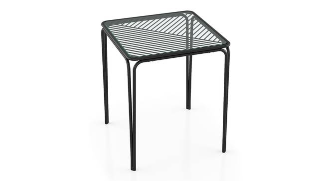 Joyce Balcony Table (Black) by Urban Ladder - Front View Design 1 - 396683