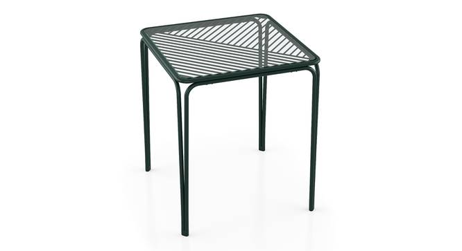 Joyce Balcony Table (Green) by Urban Ladder - Front View Design 1 - 396684