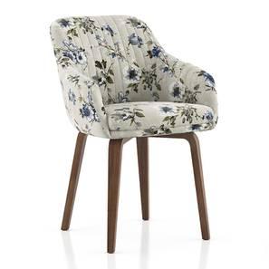 Rochelle Lounge Chair (Adrian Velvet) by Urban Ladder - Cross View Design 1 - 406591