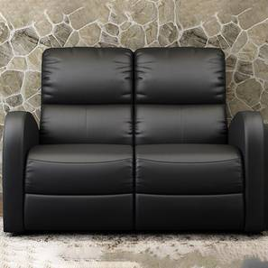 Milo Recliner (Black, Two Seater) by Urban Ladder - Design 1 - 409220