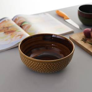 Gigi Serving Bowl (Medium Size, Single Set) by Urban Ladder - Front View Design 1 - 412042