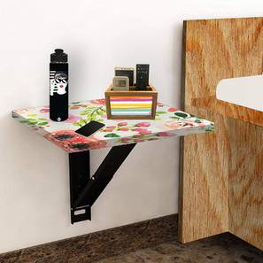 Fisher Wall Mounted Study Table (Matte Finish) by Urban Ladder - Front View Design 1 - 412286