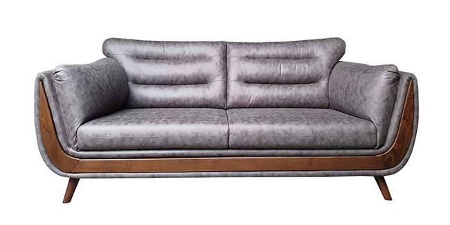 Cagliari Fabric Sofa - Grey (Grey, None Custom Set - Sofas, 3-2 Set Standard Set - Sofas, Fabric Sofa Material, Regular Sofa Size, Regular Sofa Type)