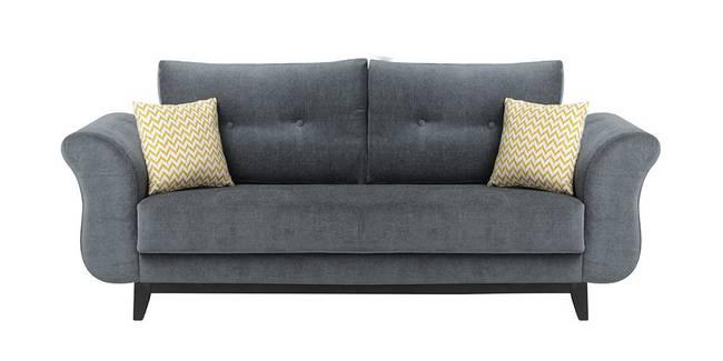 Markel Fabric Sofa - Grey (Grey, 3-seater Custom Set - Sofas, None Standard Set - Sofas, Fabric Sofa Material, Regular Sofa Size, Regular Sofa Type)