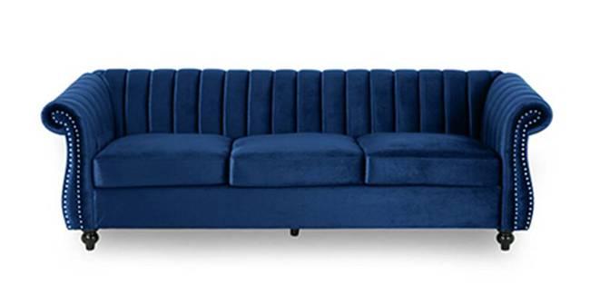 Neman Fabric Sofa(Brown) (Brown, 3-seater Custom Set - Sofas, None Standard Set - Sofas, Fabric Sofa Material, Regular Sofa Size, Regular Sofa Type)