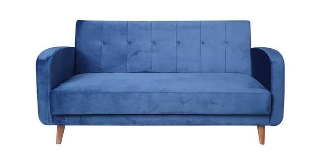 Swindon Tufted Back Fabric Sofa - Blue (Blue, 3-seater Custom Set - Sofas, None Standard Set - Sofas, Fabric Sofa Material, Regular Sofa Size, Regular Sofa Type)