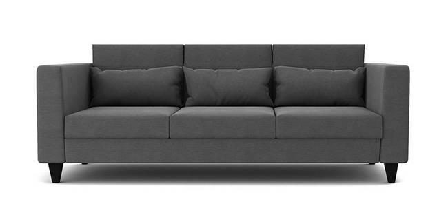 Charleston Fabric Sofa - Grey (Grey, 1-seater Custom Set - Sofas, None Standard Set - Sofas, Fabric Sofa Material, Regular Sofa Size, Regular Sofa Type)