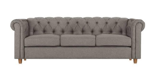 Starthford Fabric Sofa- Grey (Grey, 3-seater Custom Set - Sofas, None Standard Set - Sofas, Fabric Sofa Material, Regular Sofa Size, Regular Sofa Type)