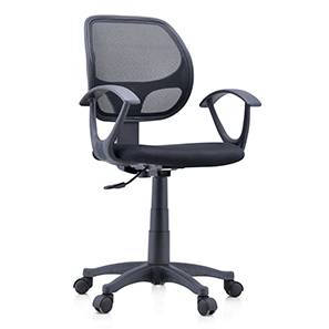 Eisner Study Chair (Black) by Urban Ladder - - 44109