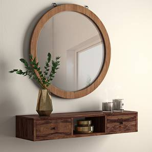Claudio Console Shelf (Teak Finish) by Urban Ladder - - 4568